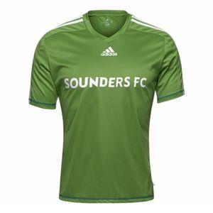 Adidas Seattle Sounders FC Green Jersey Shirt